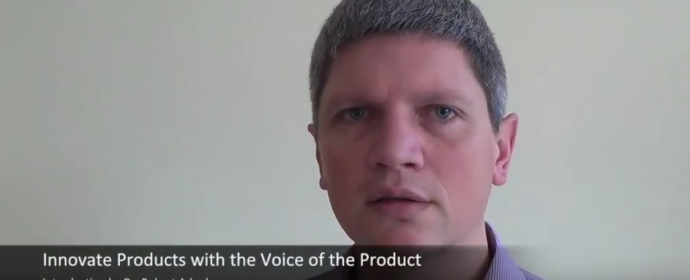 "TRIZ Know-How: ""Voice of the Product"""