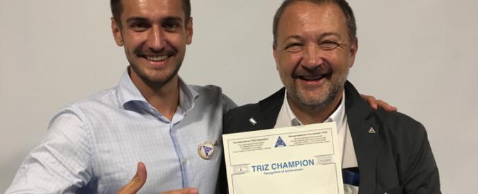 Unser Partner ist ein TRIZ-Champion